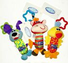 Playgro My First Tinkle Trio Baby Kid Child Stroller Playmat Crib Rattles Toy 0