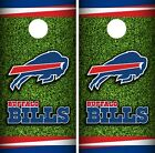 Buffalo Bills Field Cornhole Wrap NFL Skin Game Board Set Vinyl Decal CO32 $39.95 USD on eBay