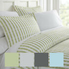 Hotel Collection Premium 3 Piece Puffed Rugged Stripes Duvet Cover Set image