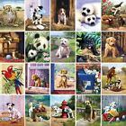Painting by Numbers Kit - A4 - Includes Paints / Brush / Board  - 20 Designs