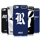 OFFICIAL RICE UNIVERSITY BLACK SOFT GEL CASE FOR APPLE iPOD TOUCH