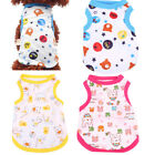 Lovely Summer Pet Dog Clothing Apparel Cat Puppy Cotton Vest T-shirt Clothes #SD