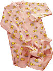 Footed Blanket Sleeper, Adult Sizes, Pink Duck Print