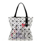 New Fashion Women Bao bag style Foldable Women's Cube Shoulder bag