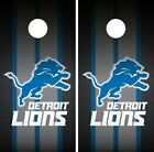 Detroit Lions Cornhole Wrap NFL Team Flag Game Skin Board Set Vinyl Decal CO66 on eBay