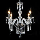 Up to date Zinc Alloy Pendant Lamp Retro Ceiling Candle Crystal Chandelier 5 Street-light