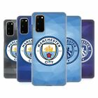 OFFICIAL MANCHESTER CITY MAN CITY FC BADGE GEOMETRIC CASE FOR SAMSUNG PHONES 1