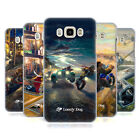 OFFICIAL LONELY DOG ADVENTURE HARD BACK CASE FOR SAMSUNG PHONES 3