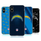 OFFICIAL NFL 2017/18 LOS ANGELES CHARGERS SOFT GEL CASE FOR APPLE iPHONE PHONES