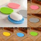 Silicone Washing Hollow Drain Cleaning Laundry Soap Dish Holder Storage DZ88