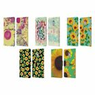 HEAD CASE DESIGNS SUNFLOWER LEATHER BOOK WALLET CASE FOR MICROSOFT NOKIA PHONES