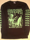 GOREAPHOBIA Long Sleeve T shirt Death metal Seraphic Decay  Dismember XXL - XXXL