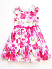 Luli & Me Fuchsia Pink Floral Pique Little Girls Party Dress SPRING Size 5 NWT