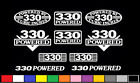10 DECAL SET 330 CI V8 POWERED TRUCK ENGINE STICKERS EMBLEMS 5.4 VINYL DECALS