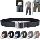 Men Military Outdoor Sports Military Tactical Nylon Waistband Belt Alloy Buckle