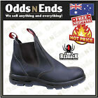 Redback UBOK Non Safety Work Boots. Elastic Sided Bobcat Leather with FREE SOCKS