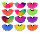 Neon Tutu I love 80s Fancy Dress Petal Rainbow Multi colour Hen Party Festival