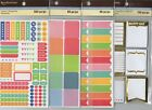 Recollections PLANNER Sticker sets~Several varieties~Super Cute! Quick Ship!