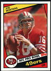 1984 Topps Football - Pick A Player - Cards 201-396 on eBay