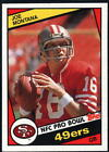 1984 Topps Football - Pick A Player - Cards 201-396 $0.99 USD on eBay