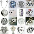 Authentic Solid 925 Sterling Silver Charms AC fit European Bead Charm Bracelets