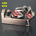 Funny Creative Metal Lighter Butane Gas Jet Human Body Beauty With Sound Gift