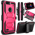 ZTE Tempo X,Rugged Armor Kickstand Back Cover For ZTE Avid 4/Blade Vantage/N9137
