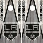 Los Angeles Kings Cornhole Wrap NHL Wood Game Board Skin Set Vinyl Decal CO199 $39.95 USD on eBay