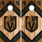 Vegas Golden Knights Cornhole Wrap NHL Game Board Skin Set Vinyl Decal CO219 $39.95 USD on eBay