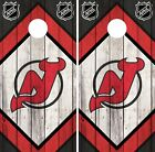 New Jersey Devils Cornhole Wrap NHL Logo Game Board Skin Set Vinyl Decal CO236 $59.95 USD on eBay