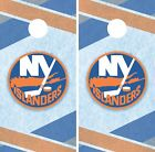 New York Islanders Cornhole Wrap NHL Game Board Skin Set Vinyl Decal CO238 $39.95 USD on eBay