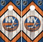 New York Islanders Cornhole Wrap NHL Team Game Board Skin Set Vinyl Decal CO242 $39.95 USD on eBay
