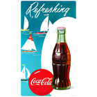 Coca-Cola Refreshing Sailboats Wall Decal Vintage Style Coke