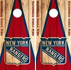 New York Rangers Cornhole Wrap NHL Game Board Skin Set Vinyl Decal Decor CO250 $39.95 USD on eBay