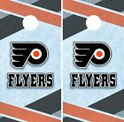 Philadelphia Flyers Cornhole Wrap NHL Game Board Skin Set Vinyl Decal CO252 $39.95 USD on eBay