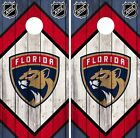Florida Panthers Cornhole Wrap NHL Game Board Skin Set Vinyl Decal Art CO296 $39.95 USD on eBay