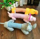New Puppy Chew Squeaker Squeaky Plush Sound Pig Duck for Dog Sound Pet Toys