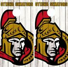 Ottawa Senators Cornhole Wrap NHL Logo Game Board Skin Set Vinyl Decal CO312 $39.95 USD on eBay