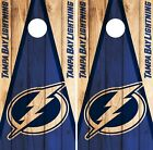 Tampa Bay Lightning Cornhole Wrap NHL Game Board Skin Set Vinyl Decal Art CO317 $59.95 USD on eBay
