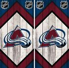 Colorado Avalanche Cornhole Wrap NHL Wood Game Board Skin Set Vinyl Decal CO335 $39.95 USD on eBay