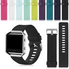 Fitbit Blaze Sports Replacement Silicone Rubber Gel Loop Strap Wrist Watch Band