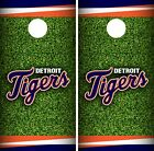 Detroit Tigers Cornhole Wrap MLB Field Game Board Skin Set Vinyl Decal CO392 on Ebay