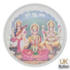 MMTC-PAMP Tri-God Boxed Coloured Silver Round