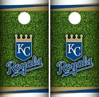Kansas City Royals Cornhole Wrap MLB Field Game Board Skin Set Vinyl Decal CO403 on Ebay