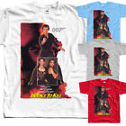 James Bond: Licence to Kill V2, J.Glen, 1989, T-Shirt (WHITE) All sizes S to 5XL $18.0 USD on eBay