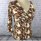 NWT Just Cavalli women's one sleeve blouse or top snake print, Italian MSRP $295