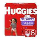 HUGGIES Little Movers Diapers Size 3, 4, 5, 6 FREE SHIPPING