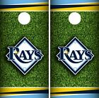 Tampa Bay Rays Cornhole Wrap MLB Field Game Board Skin Set Vinyl Decal CO434 on Ebay