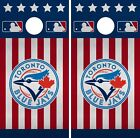 Toronto Blue Jays Cornhole Wrap MLB America Game Skin Set Vinyl Decal CO445 on Ebay