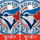 Toronto Blue Jays Cornhole Wrap MLB Logo Game Board Skin Set Vinyl Decal CO450 on Ebay